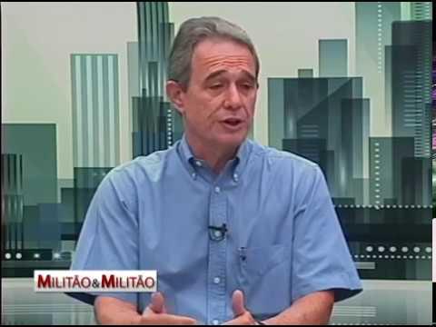 Entrevista com o atual presidente Sergio Gilberto Bonocielli Junior no programa Militão e Militão