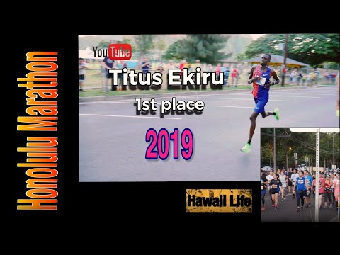 Top Honolulu Marathon finishers 2019