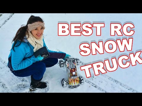 BEST RC SNOW TRUCK EVER Under $200!! - TheRcSaylors