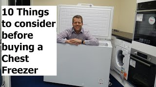 10 Things To Consider Before Buying A Chest Freezer