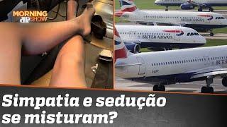 Companhia aérea investiga caso de aeromoça que ofereceria