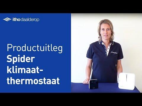 Spider Connect Klimaatthermostaat + Gateway's video thumbnail.