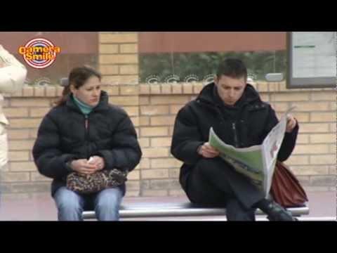 In attesa dell'autobus