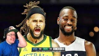 Reacting To Team USA vs Australia - Game 2 - Full Game Highlights -   USA Basketball 2019