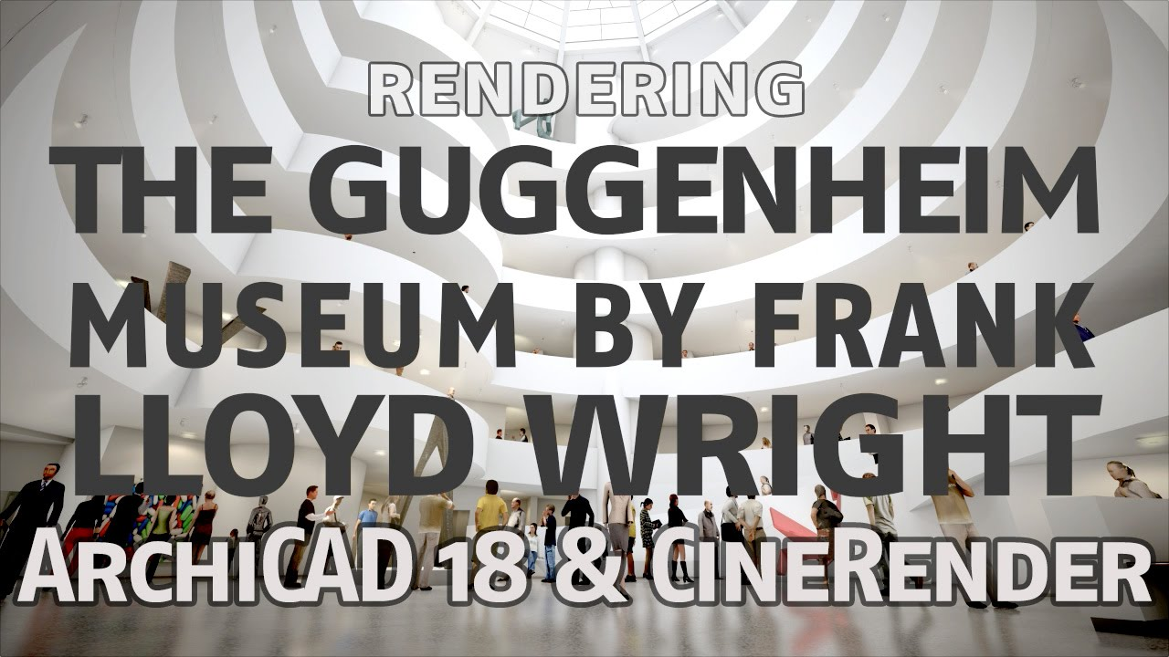 Rendering the Guggenheim