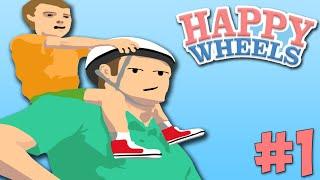 Happy Wheels With OfficialBlueBen: Lets Begin! - Episode 1