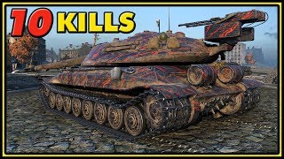 Object 705A - 10 Kills - World of Tanks Gameplay