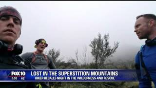 Man rescued from Superstition Mountains speaks