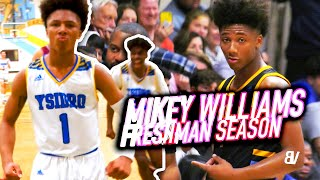 Mikey Williams FULL FRESHMAN YEAR HIGHLIGHTS: ALL DUNKS, 3'S FROM CLOSE TO FAR, BLOCKS & MORE!