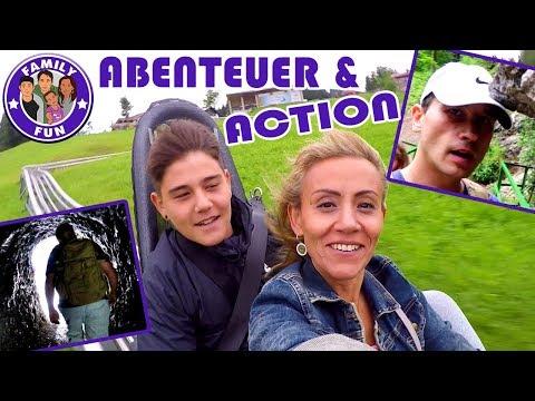 ACTION ADVENTURE TRIP - Rodelspaß und Wandern in der Schlucht | FAMILY FUN