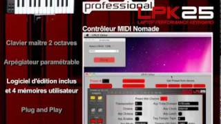 Akai Professional LPK25 - Video