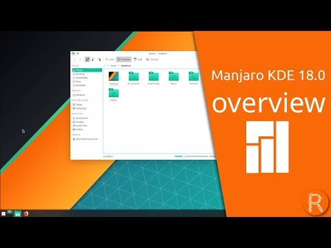 Download Manjaro KDE 18.0 Overview | Feature-rich And Versatile. HD Mp4 3GP Video and MP3