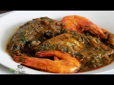 Seafood Palm Nut Soup - Abak Mbakara