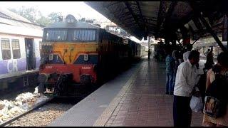 preview picture of video '12188 CST Jablapur Garibrath 100kmph At Dombivali'