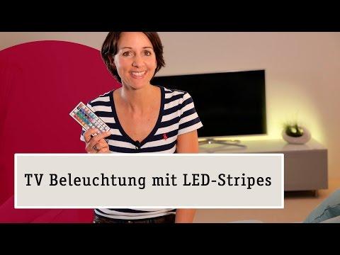 LED Streifen – Schöne Lichteffekte für das Wohnzimmer zaubern