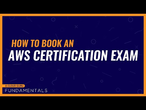 How to book an AWS Certification Exam - YouTube