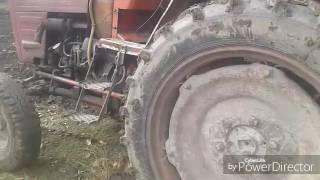 Трактор Т-25,оранка цілини після ремонту.