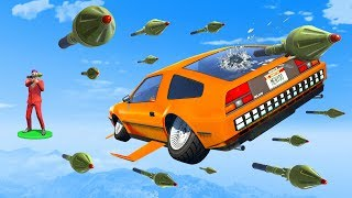 EXTREME RPG vs Flying Cars! - GTA 5 Funny Moments