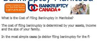 Bankruptcy Manitoba