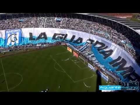 """La Salida - La guardia Imperial vs San Lorenzo TT 2014"" Barra: La Guardia Imperial • Club: Racing Club • País: Argentina"
