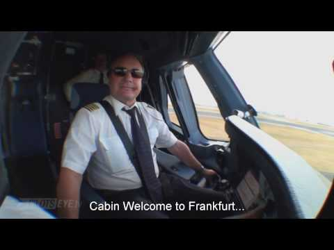 Pilotseye.tv - Lufthansa A380 Descent And Landing - Frankfurt [English Subtitles] Mp3