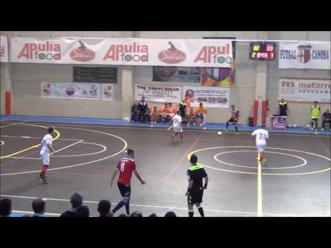 Preview video Apulia Food Canosa Vs Futsal Ruvo (3-5)