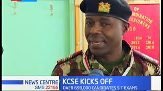 Baringo County Commissioner, Henry Wafula confirms KCSE kick off without any hitch