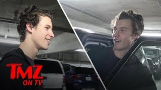Shawn Mendes Can't Find His Car, Has Great Time Finding It With TMZ Camera Girl | TMZ