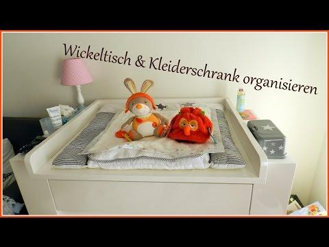Wickeltisch und Kleiderschrank neu organisieren   gabelschereblog