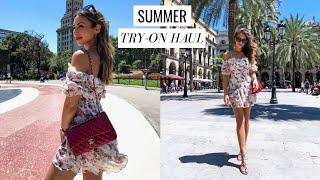 SUMMER TRY-ON HAUL | Zara, NastyGal, Hermes, Dior | Annie Jaffrey