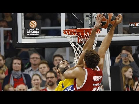 Highlights: RS Round 4, Brose Baskets Bamberg 77-66 Maccabi FOX Tel Aviv