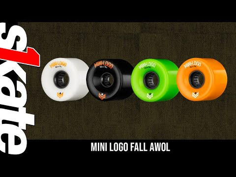 Mini Logo A.W.O.L. Skateboard Wheels A-cut Black 59mm 78A 4pk