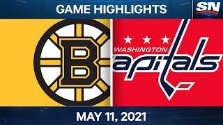 Punti salienti del gioco NHL | Bruins vs. Capitals - 11 maggio 2021