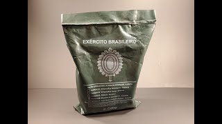 2018 Brazilian Army MRE Operational Ration (6 Hours) Review Meal Ready to Eat Tasting Test