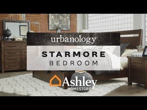 Starmore king panel bed ashley furniture homestore for Starmore ashley furniture bedroom