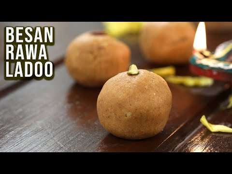 How To Make Besan Rava Ladoo | ₹199 Only | Budget Binge | Diwali Special Recipe | Rava Laddu | Ruchi