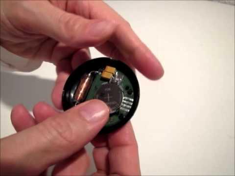 Schwimmcomputer U-Turn G2: Batterie des Sensors wechseln