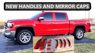 How To Install Door Handles And Mirror Caps 2014 2015 2016 2017 2018 Sierra Silverado