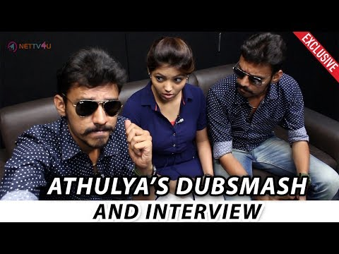 Dubsmash Of Kadhal Kan Kattuthey Athulya | Athulya Live Proposal | Interview With Arun Aravind Part2