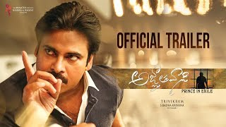'Agnyaathavaasi' Official Trailer