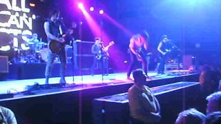 The All American Rejects - Walk Over Me - live @ Cardiff 10th july 2012