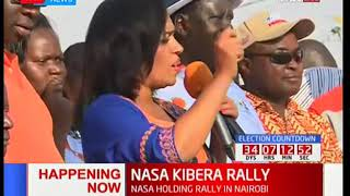 Nairobi woman rep Esther Passaris urges Kibra residents to campaign on Raila Odinga's behalf