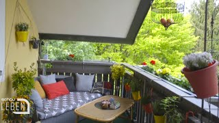 Balkon Make Over: Wie mache ich meinen Balkon oder meine Terrasse zu meiner kleinen Wohlfühloase?