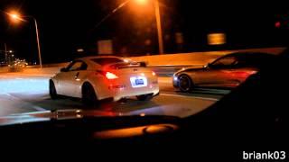 Nissan 350Z Single Turbo Vs Twin Turbo Toyota Supra (HD)