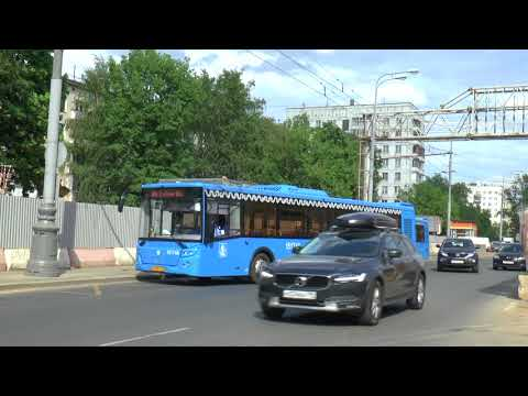MOSCOW RUSSIA TROLLEYBUSES MAY 2018