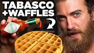 Weird Waffle Toppings Taste Test