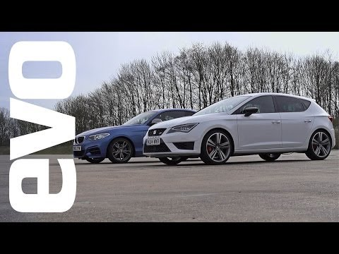 BMW M235i vs SEAT Leon Cupra Drag Race
