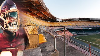 INSIDE The ABANDONED RFK Stadium Home Of The Washington REDSKINS