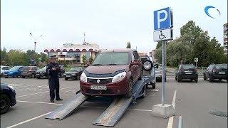 Городской отдел ГИБДД снова проверил парковки у крупных торговых центров