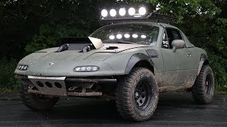 Building a Supercharged Offroad Miata in 6 Minutes!